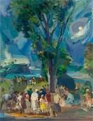 62850: JON CORBINO (American, 1905-1964) Annisquam Moon