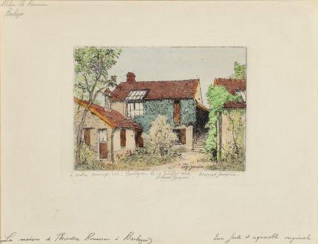 63660: MARCEL JACQUE (French, 1906-1981) Le Maison de T