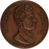 43190 Abraham Lincoln HighRelief Copper Medal