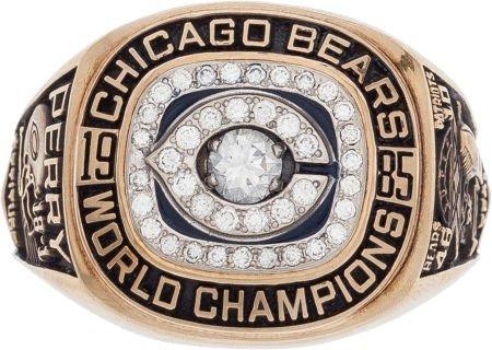 80063: 1985 Chicago Bears Super Bowl XX Championship Ri