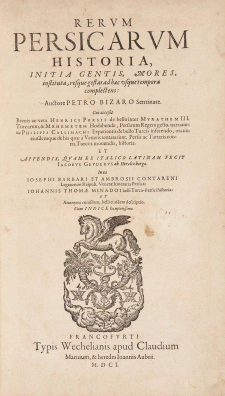 45014: Pietro Bizari [Bizzari], Cleasias, Photius, Henr