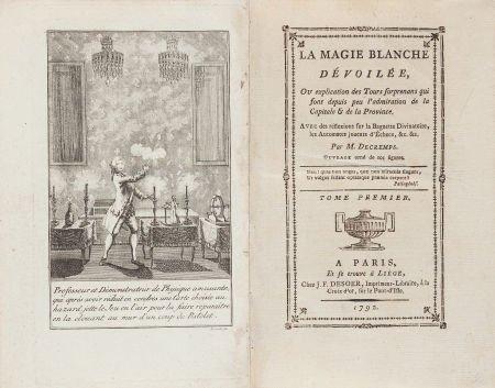 45018: [Stage Magic]. Henri Decremps. La Magie Blanche
