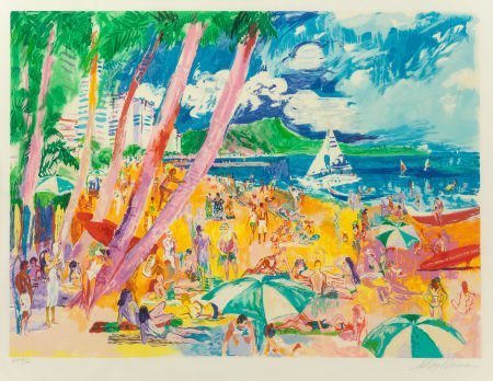 63281: Leroy Neiman (American, 1921-2012) Diamond Head,