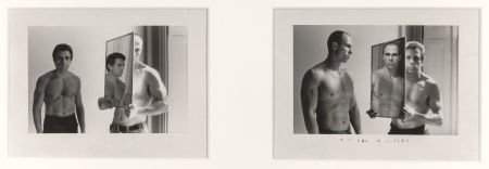 63646: Duane Michals (American, b. 1932) Untitled (two