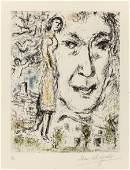 63649: Marc Chagall (French/Russian, 1887-1985) Autopor