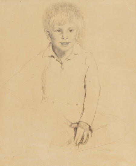 63734: Lilian Westcott Hale (American, 1881-1963) Portr