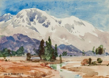 63735: William Henry Holmes (American, 1846-1933) Mount