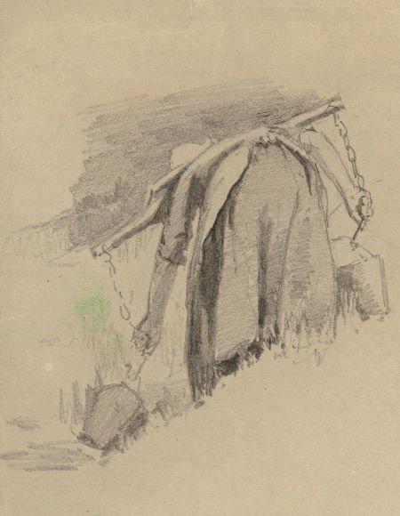 63737: Alice D. Kellog (American, 1862-1900) Woman with