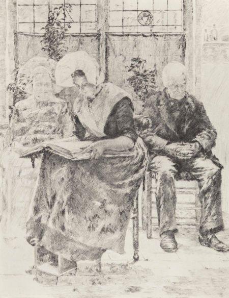 63738: Walter MacEwen (American, 1860-1943) L'Absente,