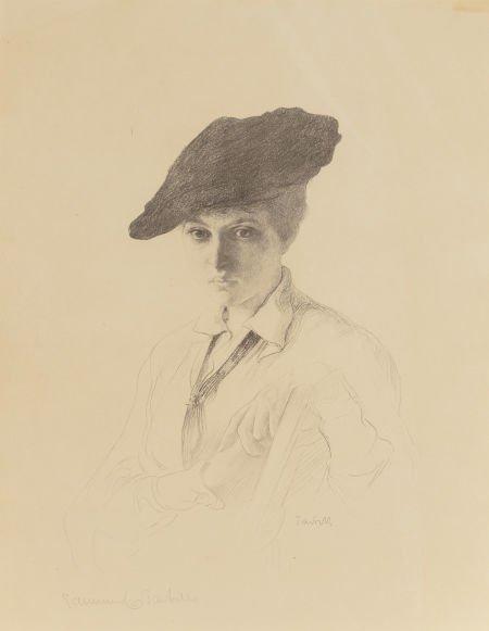 63742: Edmund Charles Tarbell (American, 1862-1938) Por