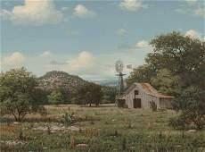 63878 Royce Robert American b 1928 Texas Landscape
