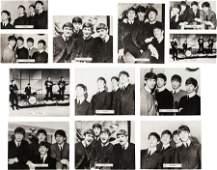 89134 Twelve Rare Beatles Photo Cards by Brel UK 196