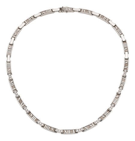 54192: Diamond, White Gold Necklace, Tiffany & Co.   Th