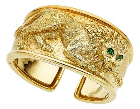54117: Emerald, Gold Bracelet, David Webb  The Kingdom