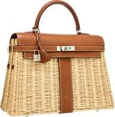 Hermes Limited Edition 35cm Natural Barenia Leat