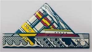 67233: Roy Lichtenstein (American, 1923-1997) Folded Ha