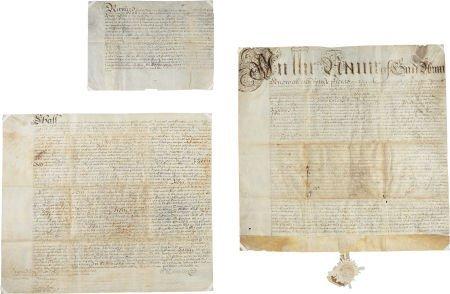 49003: Manuscript Will of Stephanus Van Cortlandt. Date