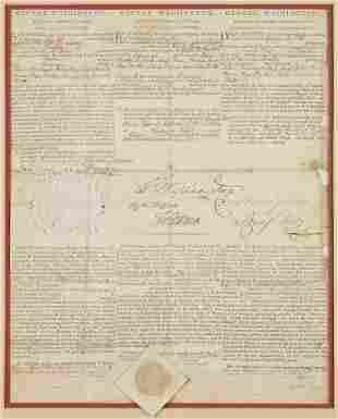 49100: George Washington and Thomas Jefferson Three Lan