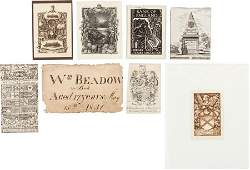 45505 Bookplates Various artists Collection of T