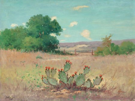 76066: Robert William Wood (American, 1889-1979) Flower