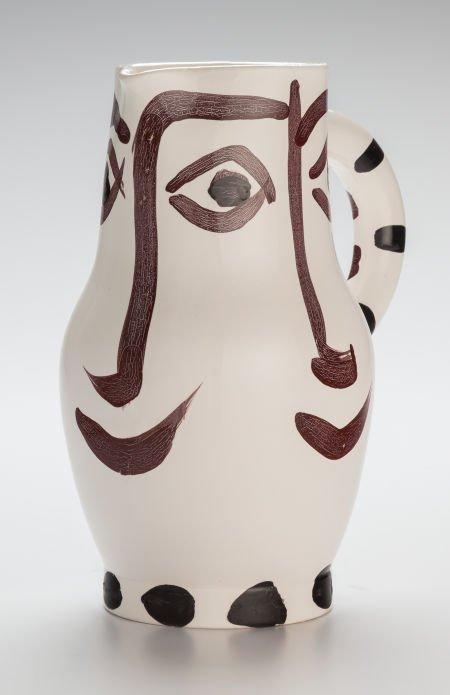 70009: Pablo Picasso (Spanish, 1881-1973) Quatre visage