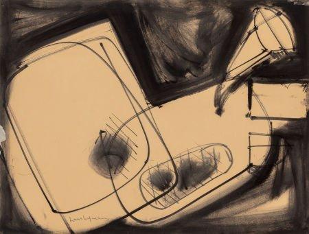 70018: Hans Hofmann (American, 1880-1966) Untitled, 194