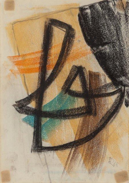 70021: Hans Richter (American, 1888-1976) Untitled, 196