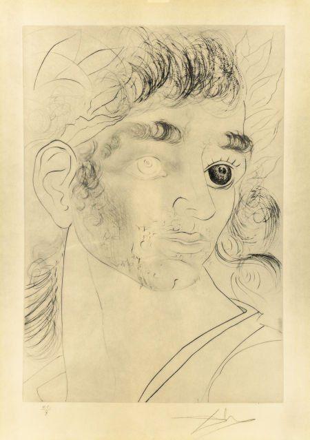 70207: Salvador Dalí (Spanish, 1904-1989) Roi, je t'att