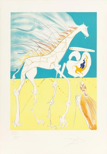 70208: Salvador Dalí (Spanish, 1904-1989) La Conquete d