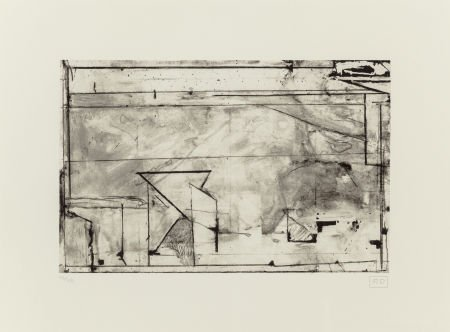 70209: Richard Diebenkorn (American, 1922-1993) Untitle