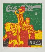 70218 Wang Guangyi Chinese b 1957 Coca Cola Red