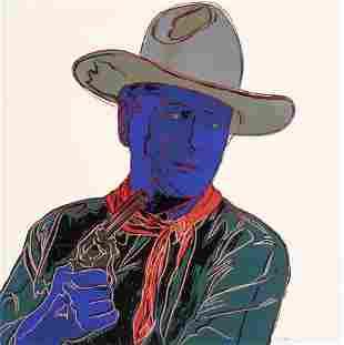 70287: Andy Warhol (American, 1928-1987) John Wayne (fr