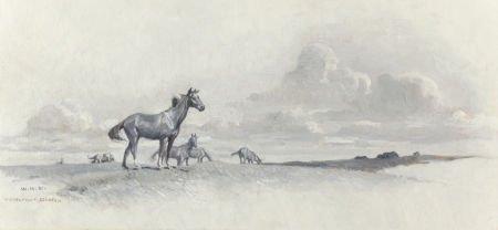 """68012: William Herbert """"Buck"""" Dunton (American, 1878-19"""