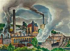 William S. Schwartz (American, 1896-1977) Paper