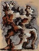 68129 Jacques Lipchitz French 18911973 Untitled M