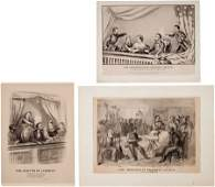 47132 Abraham Lincoln Assassination Prints Group of