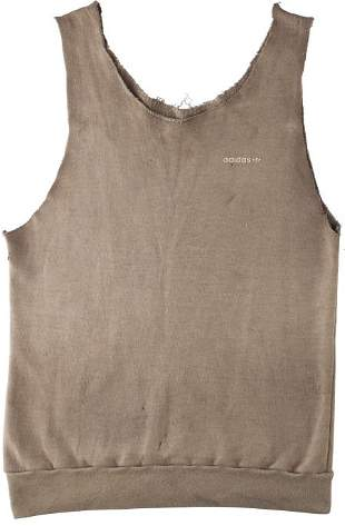"""89051: A Tank Top from """"First Blood."""" Orion, 1982. A f"""
