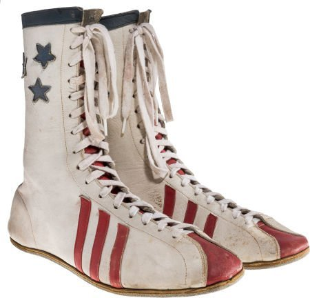 """89176: A Carl Weathers as """"Apollo Creed"""" Pair of Boxing"""