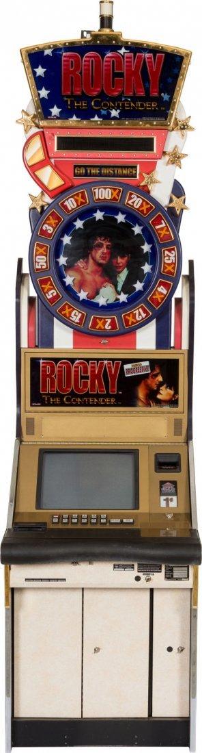 "89179: A ""Rocky""-Themed Slot Machine, 2004. Made by Kon"