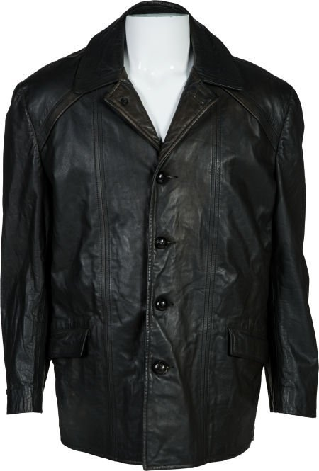 """89180: The Black Leather Jacket from """"Rocky II"""" United"""