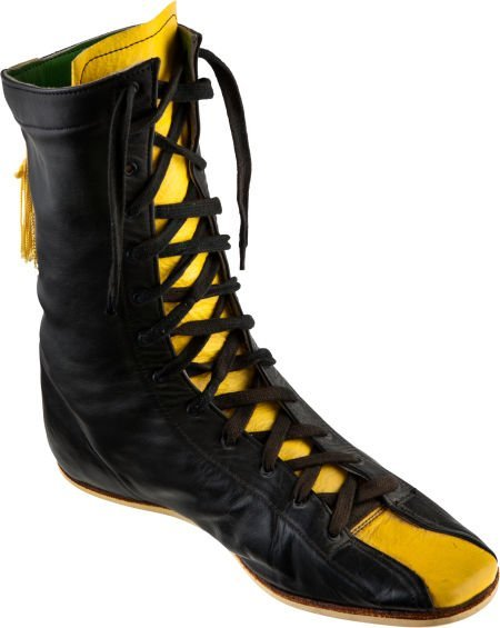 """89182: A Boxing Shoe from """"Rocky II."""" United Artists, 1"""