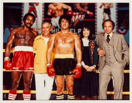 """89183: A Color Photograph by Neil Leifer from """"Rocky II"""