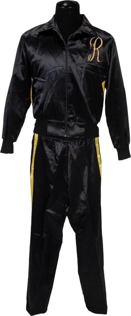 """89186: A Training Suit from """"Rocky III."""" Metro Goldwyn"""