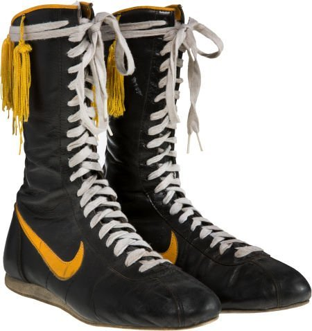 """89187: A Pair of Boxing Shoes from """"Rocky III."""" MGM/UA,"""