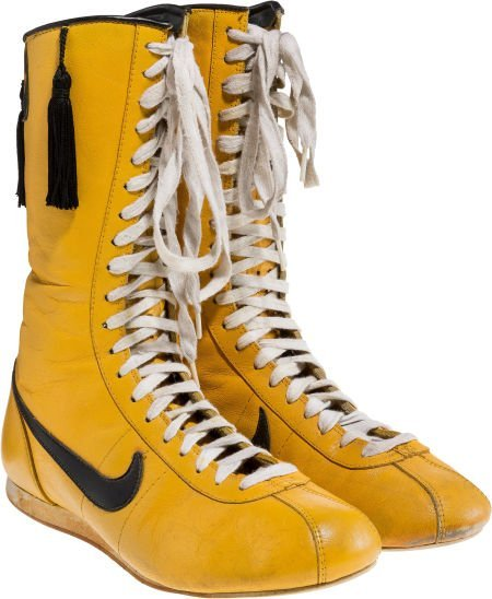 """89188: A Pair of Boxing Shoes from """"Rocky III."""" Metro-G"""