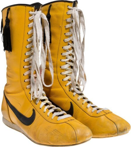 """89189: A Pair of Boxing Shoes from """"Rocky III."""" Metro-G"""