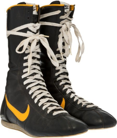 """89190: A Pair of Boxing Shoes from """"Rocky III."""" MGM/UA,"""