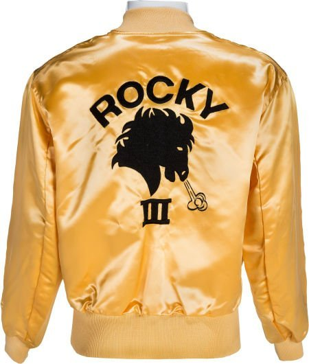 """89191: A Personal Crew Jacket from """"Rocky III."""" Metro G"""