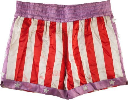 """89192: A Pair of Boxing Trunks from """"Rocky IV."""" Metro-G"""