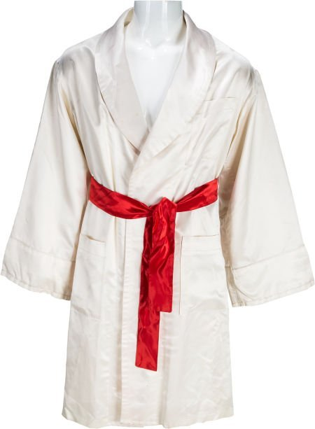 """89194: A Boxing Robe from """"Rocky IV."""" Metro-Goldwyn-May"""